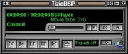 Skin in WinAMP3 style - November 2003